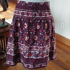 Lovely Ann Taylor peasant skirt 6